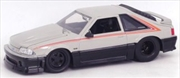 Big Time Muscle - Ford Mustang GT 1989 Grey / Black 1:24 Scale Diecast Vehicle | Merchandise