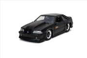 Big Time Muscle - Ford Mustang GT 1989 Black 1:24 Scale Diecast Vehicle | Merchandise