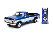 Just Trucks - Ford F-150 1979 Blue 1:24 Scale Diecast Vehicle | Merchandise