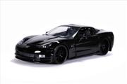 Big Time Muscle - Chevy Corvette 2006 Black 1:24 Scale Diecast Vehicle   Merchandise
