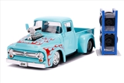 Just Trucks - Ford F-100 Pick Up 1956 Blue 1:24 Scale Diecast Vehicle | Merchandise