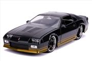 Big Time Muscle - Chevy Camaro 1985 Mellaic Black 1:24 Scale Diecast Vehicle   Merchandise