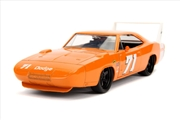 Big Time Muscle - Dodge Charger Daytona 1969 Orange 1:24 Scale Diecast Vehicle | Merchandise