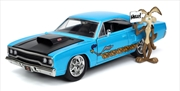 Looney Tunes - Plymouth Road Runner 1970 with Wile E Coyote 1:24 Scale Hollywood Ride | Merchandise