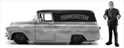 Universal Monsters - Chevy Suburban 1957 with Franksenstein 1:24 Scale Hollywood Ride | Merchandise