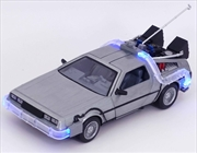 Back to the Future - Time Machine 1:24 Scale Hollywood Ride | Merchandise