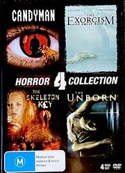 Candyman/Exorcism Of Emily Rose/Skeleton Key/Unborn   DVD