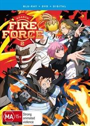 Fire Force - Season 2 - Part 1 | Blu-ray + DVD | Blu-ray/DVD