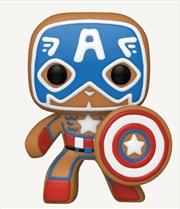 Captain America Gingerbread | Pop Vinyl