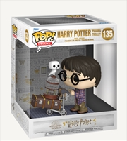 Harry Potter Pushing Trolley: 20th Anniversary Deluxe | Pop Vinyl
