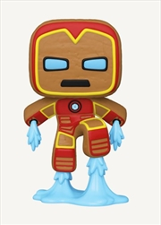 Iron Man Gingerbread | Pop Vinyl