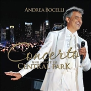 Concerto - One Night In Central Park - 10th Anniversary   CD