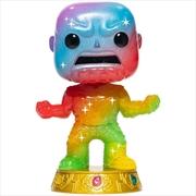 Avengers - Thanos Infinity Saga Rainbow Metallic (Artist) Pop! Vinyl with Protector [RS] | Pop Vinyl