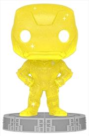 Avengers - Iron Man Infinity Saga Yellow (Artist) Pop! Vinyl with Protector | Pop Vinyl