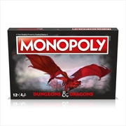 Monopoly - Dungeons And Dragons Edition | Merchandise