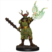 Pathfinder - Half-Orc Druid Male Premium Figure   Games
