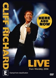 Cliff Richard - Here and Now   DVD