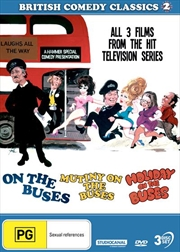 British Comedy Classics - On The Buses / Mutiny On The Buses / Holiday On The Buses - Vol 2 | DVD