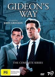 Gideon's Way | Complete Series | DVD