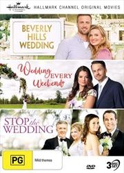 Hallmark - Beverly Hills Wedding / Wedding Every Weekend / Stop The Wedding - Collection 12 | DVD