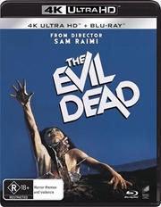 Evil Dead | Blu-ray + UHD, The | UHD