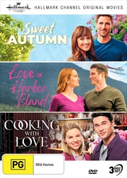 Hallmark - Sweet Autumn / Love On Harbor Island / Cooking With Love - Collection 13 | DVD
