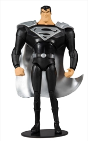 "Superman: The Animated Series - Superman Black Suit 7"" Action Figure   Merchandise"
