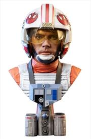 Star Wars - Luke Skywalker Pilot Legends in 3D 1:2 Scale Bust | Merchandise
