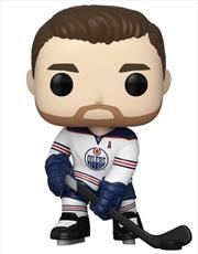 NHL: Oilers - Leon Draisaitl (Road Uniform) Pop! Vinyl | Pop Vinyl