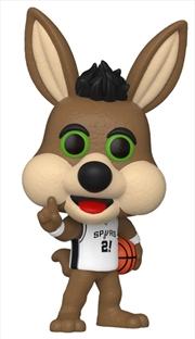 NBA: Spurs - The Coyote Pop! Vinyl | Pop Vinyl