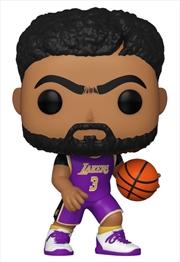 NBA: Lakers - Anthony Davis Purple Jersey Pop! Vinyl | Pop Vinyl