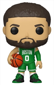 NBA: Celtics - Jayson Tatum Green Jersey Pop! Vinyl | Pop Vinyl