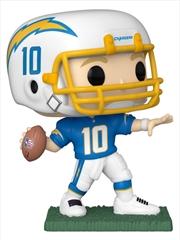 NFL: Chargers - Justin Herbert (Home) Pop! Vinyl | Pop Vinyl