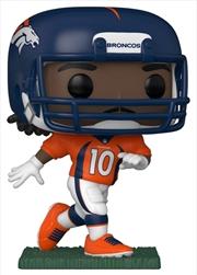 NFL: Broncos - Jerry Jeudy (Home) Pop! Vinyl | Pop Vinyl