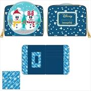 Loungefly - Mickey Mouse - Snowman Snow Globe Purse | Apparel