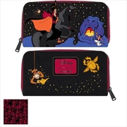 Loungefly - Aladdin - Jafar Cave Mini Zip Purse | Apparel