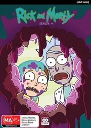 Rick And Morty - Season 4 | DVD