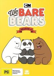 We Bare Bears - Season 4 | Boxset | DVD