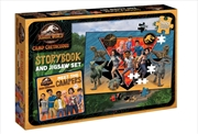 Jurassic World Camp Cretaceous Storybook and Jigsaw Set | Merchandise