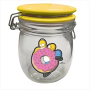 Simpsons Glass Cannister - Homer | Homewares