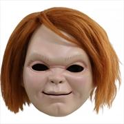Child's Play 6: Curse of Chucky - Chucky Plastic Mask w/Hair | Apparel