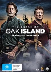Curse Of Oak Island - Season 1-6 | Collection, The | DVD