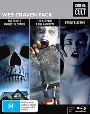 Wes Craven Pack   Cinema Cult   Blu-ray