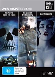 Wes Craven Pack   Cinema Cult   DVD