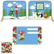 Loungefly - Elf - Buddy and Friends Zip Purse | Apparel