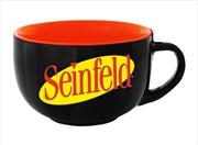 Seinfeld Logo Soup Mug   Merchandise