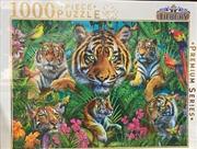 Tiger Collage 1 - 1000 Piece Puzzle | Merchandise