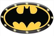 Batman Light Up Tin Man Cave Bar Sign   Accessories