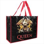 Queen Laminated Shopper Bag | Apparel