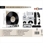 Cleaning Kit In Round Tin | Accessories